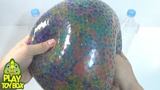 Download BIG Orbeez Balloon Gummy Color Jelly Slime Clay Surprise Toys Video