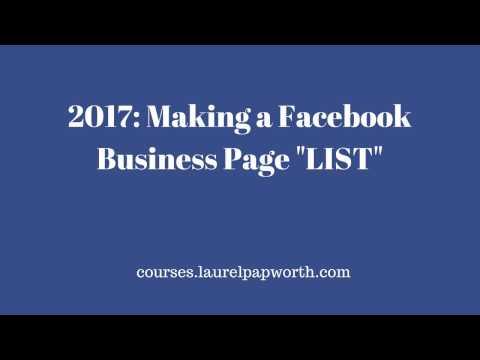 2017 How to Create and Use Facebook Lists