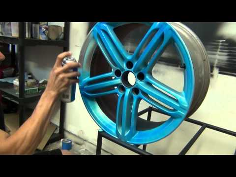 BLAZE Orange and BLAZE Blue Plasti Dip - Testing and what the color look like