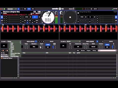 Serato DJ Effects Demo