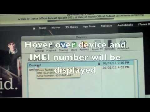 iPhone 4  IMEI and Serial Number How To Get Your - read description