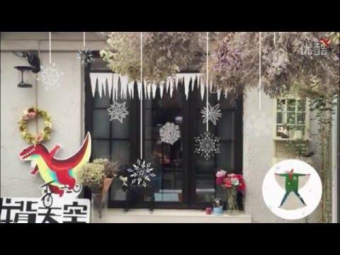 剪纸 圣诞节雪花 paper-cut Christmas snowflake