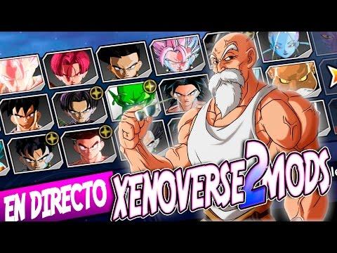 DIRECTO SORPRESA !! BATALLAS CON MODS ONLINE | DRAGON BALL XENOVERSE 2