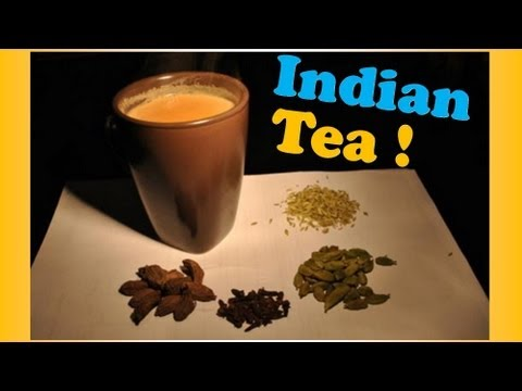 How To Make Traditional INDIAN TEA (Chai)