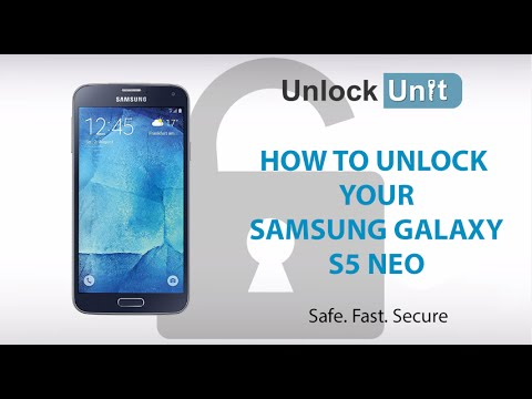 HOW TO UNLOCK Samsung Galaxy S5 Neo
