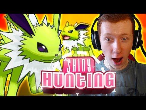 THUNDERTHIGH - SHINY JOLTEON REACTION - Pokemon Ultra Sun & Moon - Shiny Reaction #144!