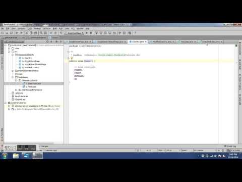 Enum and switch - 5th Java Training Video
