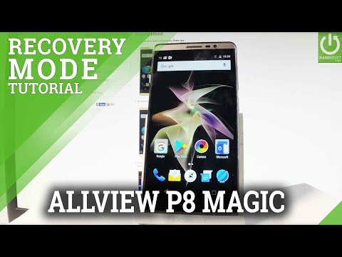 How to Open Recovery Mode ALLVIEW P8 eMagic - Use Recovery