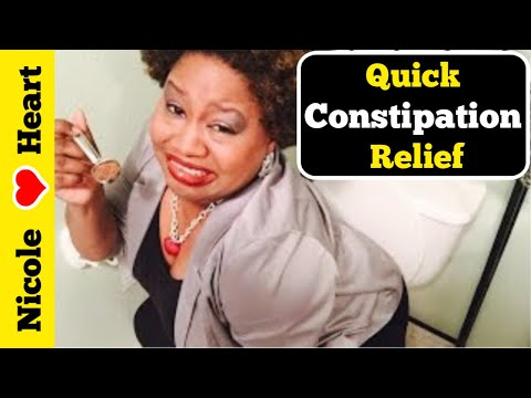 Constipation | Quick Relief Remedy