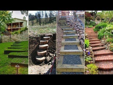 Modern Garden Stairs Design Ideas | DIY Stairs Decor