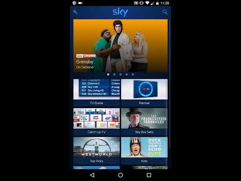 How to use your phone to control a sky + HD box
