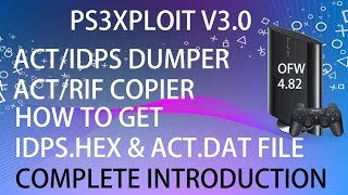 PS3 ACT/RIF Alternative Injection - Easier Install RIF and ACT to