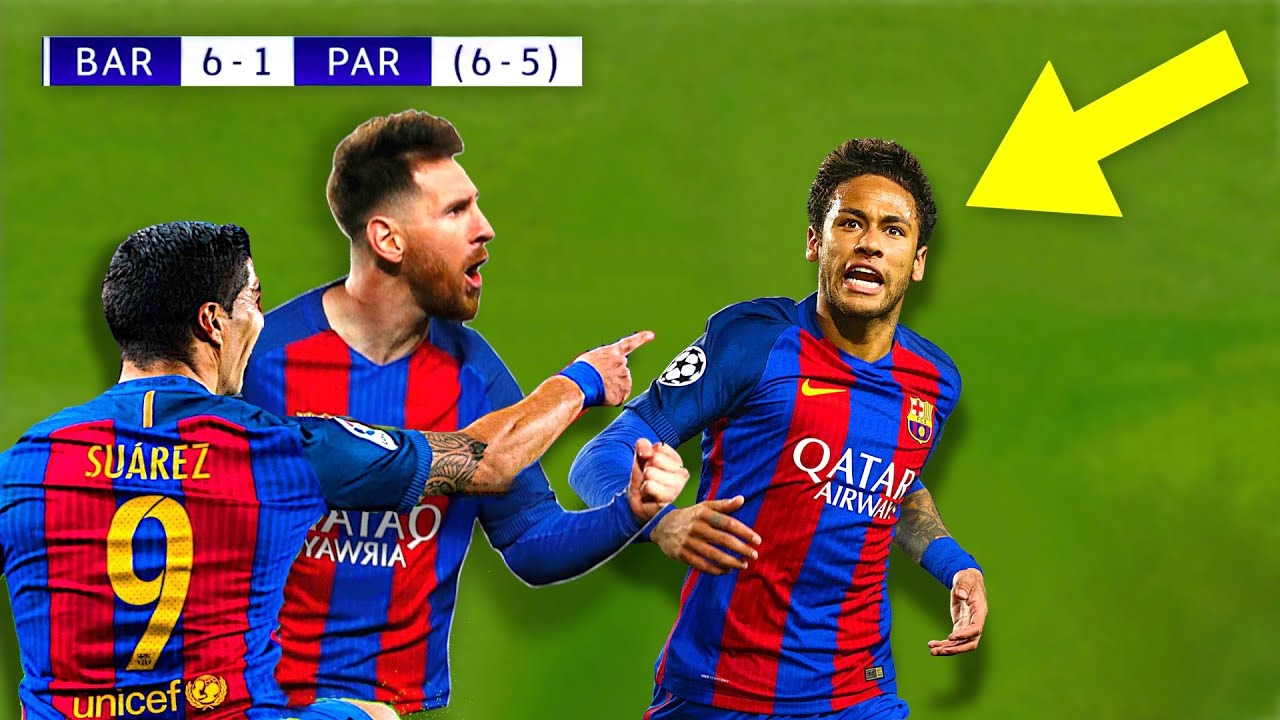 When Neymar Jr Destroyed PSG & Made Messi Lose Control!