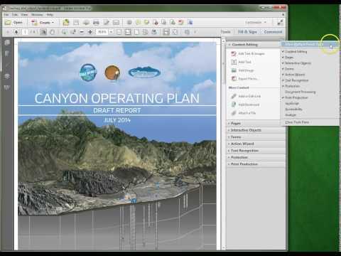 Adobe Acrobat XI: Allow Multiple Panels view