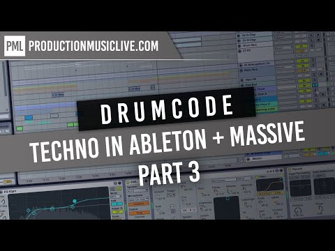 Techno from Start to Finish - Drumcode | Enrico Sanguiliano Style Remake PART 3