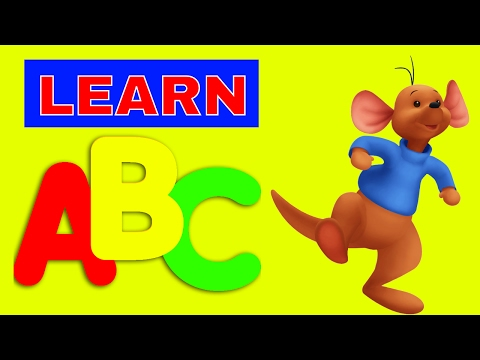 LEARN ENGLISH WORDS AND COLORS FOR CHILDREN WITH COLOURFUL LETTERS