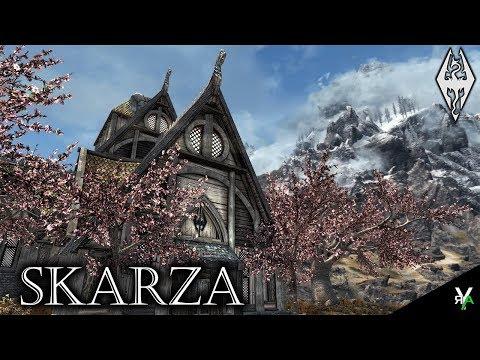 SKARZA: Unique Player Home!!- Xbox Modded Skyrim Mod Showcase
