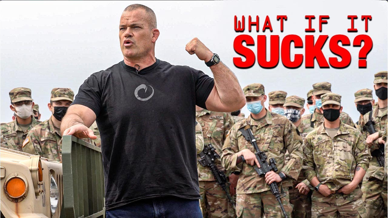 WHAT IF IT SUCKS? - Jocko Willink
