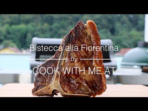 Bistecca alla Fiorentina - T-Bone Steak reverse seared in Olive Oil - COOK WITH ME.AT