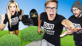 Extreme Hide and Seek Challenge Matt and Rebecca Vs. Hacker! (End of Alice's Tricks and Hacks IRL)