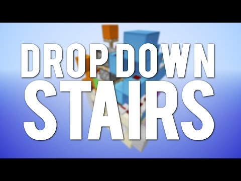 Minecraft: Fancy Drop Down Staircase