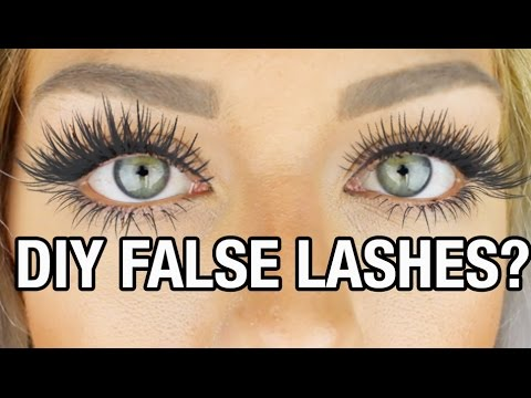 Beauty Hack or Wack? DIY False Lashes W/ Baby Powder