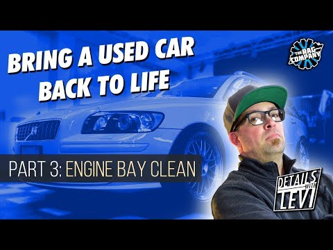 USED CAR Detailing Part 3: Engine Bay Cleaning | DETAILS WITH LEVI