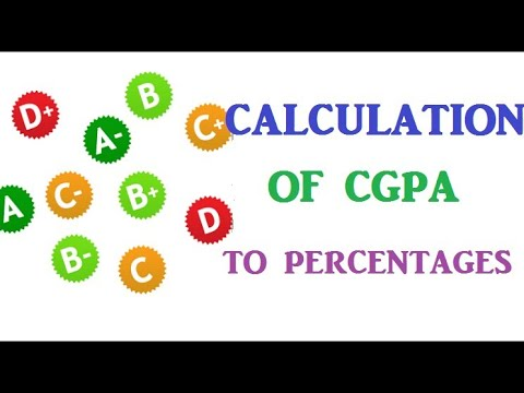 How to convert CGPA to percentage in just seconds. Very useful and explained video for students 2018