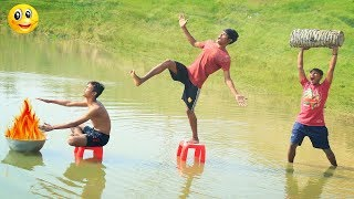 Indian New funny Video😄-😅Hindi Comedy Videos 2019-Episode-76--Indian Fun || ME Tv