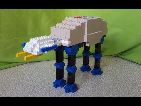STAR WARS Building Lego AT-AT