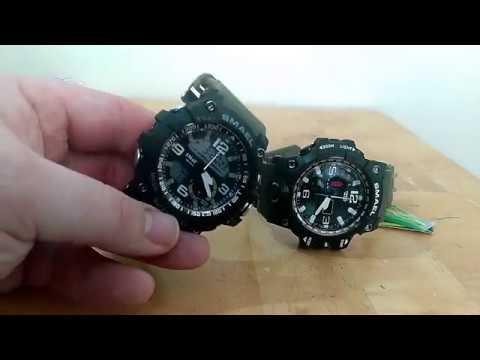 Smael watches (g-shock clones) - is Nutnfancy crazy?