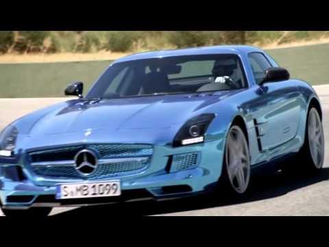 Mercedes-Benz SLS AMG Electric Drive Paris Motor Show 2012