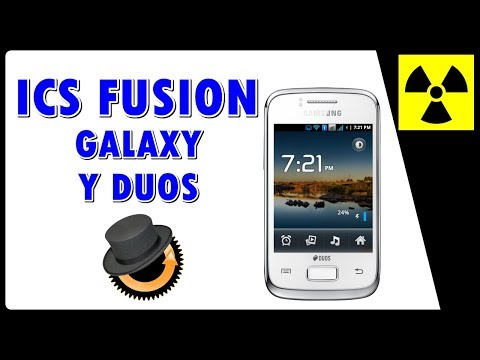 Rom Custom - ICS Fusion Final no Galaxy Y DUOS - (100% FUNCIONAL) + CWM