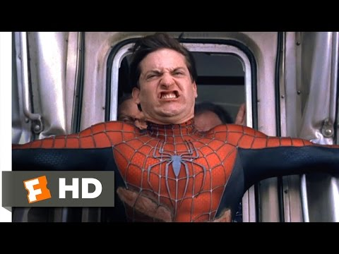 Spider-Man 2 - Stopping the Train Scene (7/10)   Movieclips
