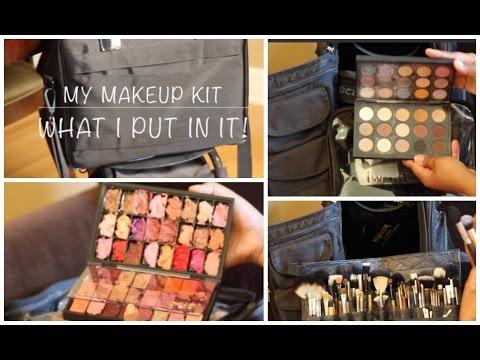 My PRO Makeup artist KIT- MAC| DarbieDayMUA
