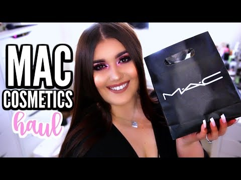 HUGE MAC COSMETICS HAUL 2017 | New, Limited Edition & Holy Grail Makeup Products ♡ Deanna Borocz