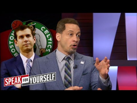 Chris Broussard talks Brad Stevens and Steph Curry's struggles in Game 2 | NBA | SPEAK FOR YOURSELF