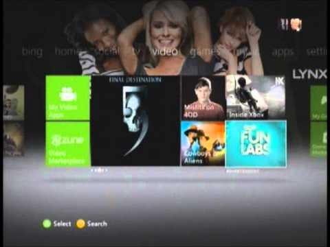 how to change your theme and gamer picture on xbox 360