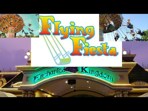 Enchanted Kingdom  Flying Fiesta (Point of View)