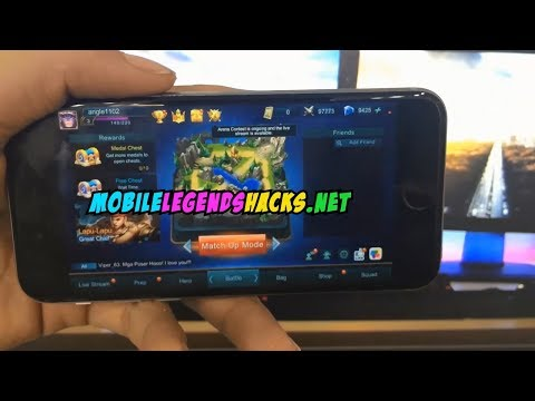 Mobile Legends Hack Diamonds 2017 Android/iOS Mobile Legends: Bang bang Cheats
