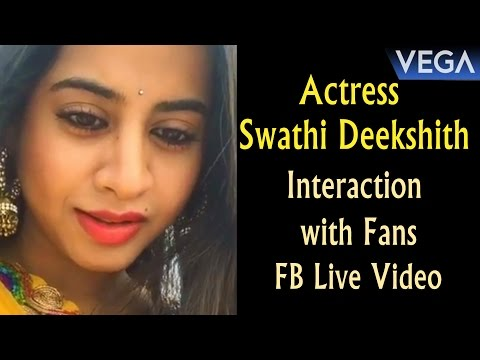 Xxx Mp4 Actress Swathi Deekshith Interaction With Fans FB Live Video 3gp Sex