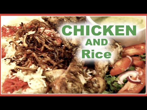 HOW TO MAKE SOMALI RICE AND CHICKEN