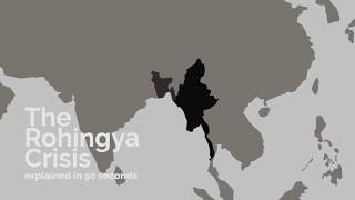 The Rohingya Crisis in 90 Seconds
