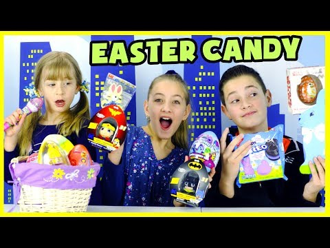 EASTER CANDY & EGG HAUL AND TASTE TEST!