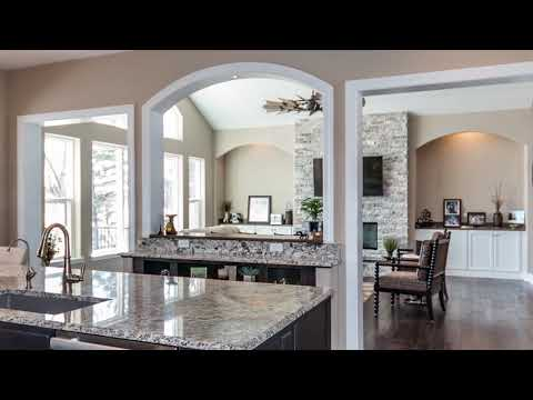 New Custom Designed Ranch Home on a Lake in Antioch IL