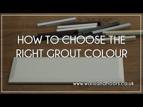 How to Choose the Correct Colour Grout