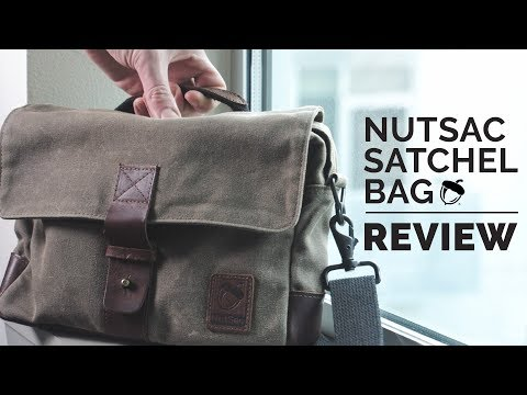 The Ultimate Man Bag | NutSac Satchel Bag Review