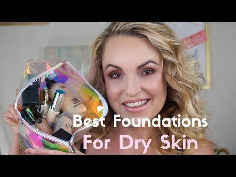 Best Foundations for Dry & Mature Skin    Foundation Friday - Elle Leary Artistry