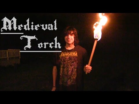 Make a Medieval Torch in Under 5 Minutes