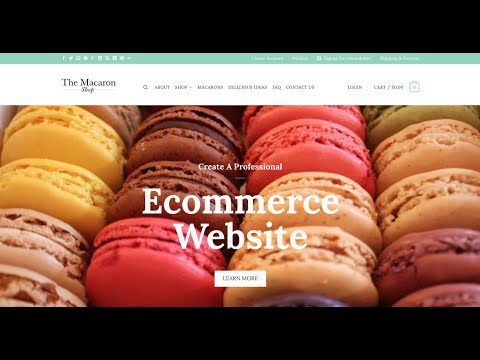 Create an Ecommerce Website with Wordpress & GODADDY (online store) - 2018